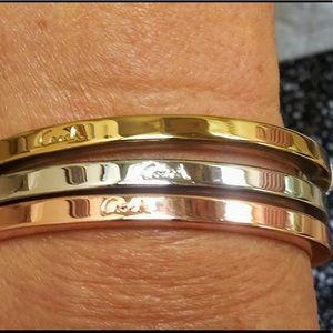 Coach bangle bracelets